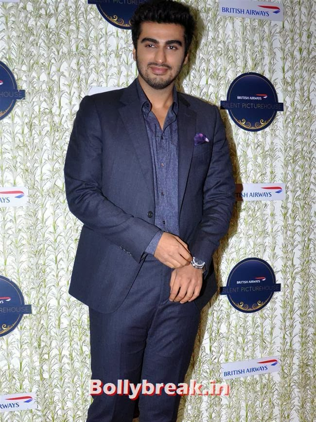 Arjun Kapoor, Malaika, Chitrangada at British Airways 'Silent Picturehouse' in Mumbai
