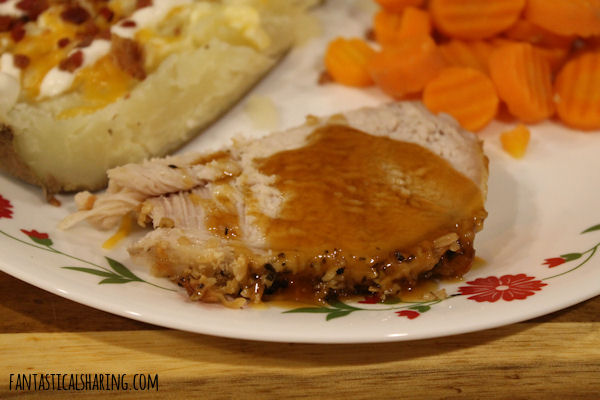 Slow Cooker Parmesan Honey Roast #maindish #slowcooker #crockpot #recipe #pork #honey