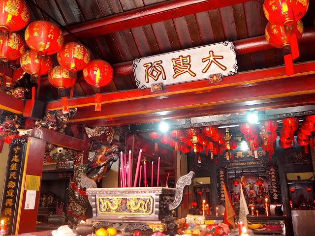 Chinatown temple, Jakarta, Indonesia