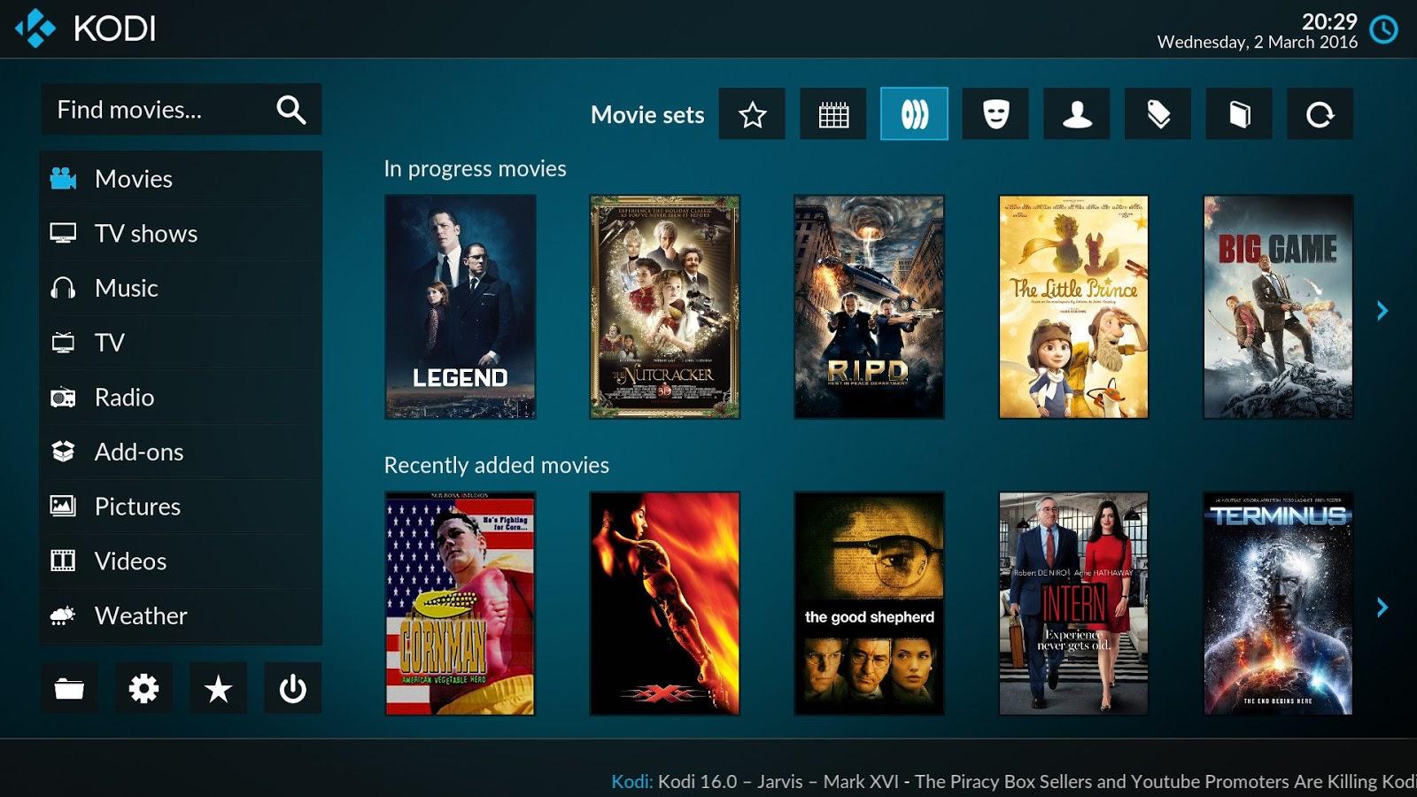 Download Kodi 17 1 Portable Italiano pronto per l'IPTV