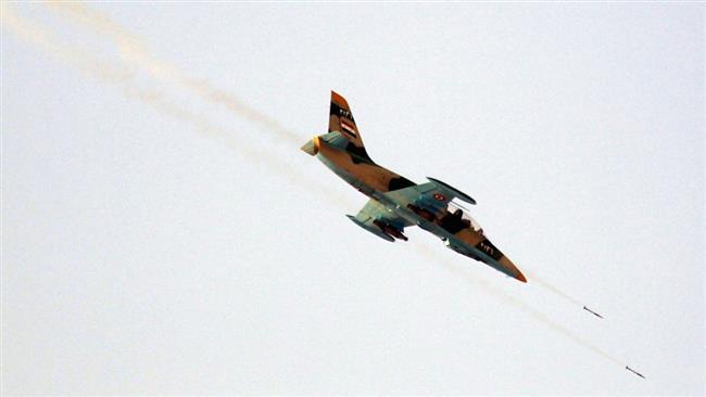 Syrian Air Force warplane goes down in eastern Suwayda