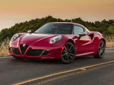 2018 Alfa Romeo 4C new Sports car exist no 1
