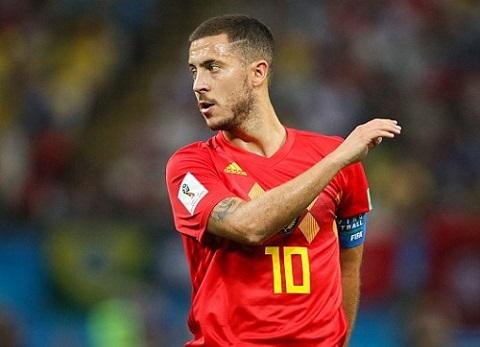 Hazard cùng với kỳ World Cup đáng quên