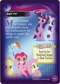 My Little Pony Maud Pie Equestrian Friends Trading Card