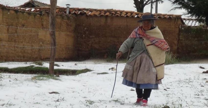 SENAMHI ALERTA: Temperaturas nocturnas de 8 grados bajo cero soportarán zonas altas de la sierra centro - www.senamhi.gob.pe