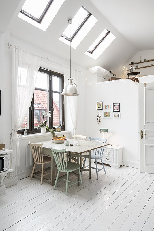 A charming one room Swedish apartment  my scandinavian