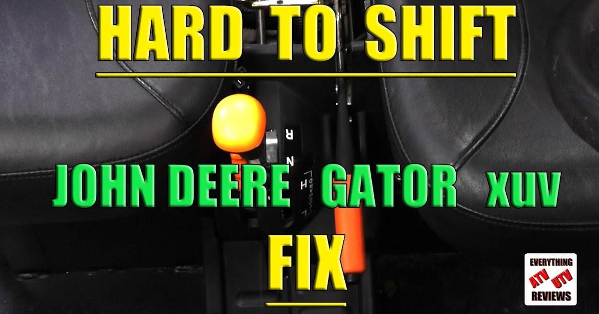 John Deere Gator >> EVERYTHING ATV UTV REVIEWS: John Deere Gator hard to shift ...