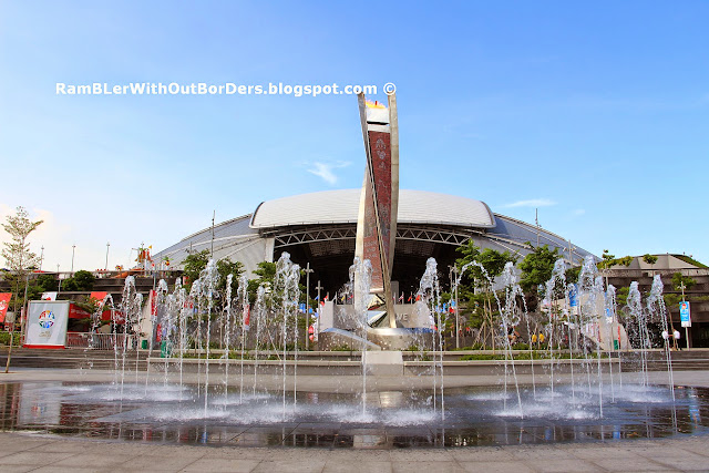 Kallang Wave Stadium, and Torch, Sports Hub, Singapore