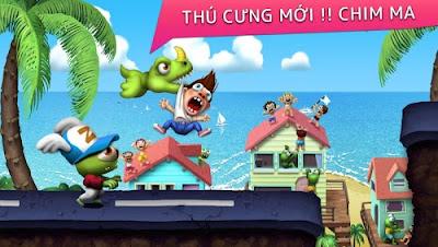 Hack Zombie Tsunami v3.5 Full Kim Cương Cho Android Iphone - 180072