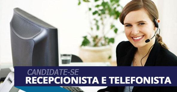 Resultado de imagem para RECEPCIONISTA E TELEFONISTA