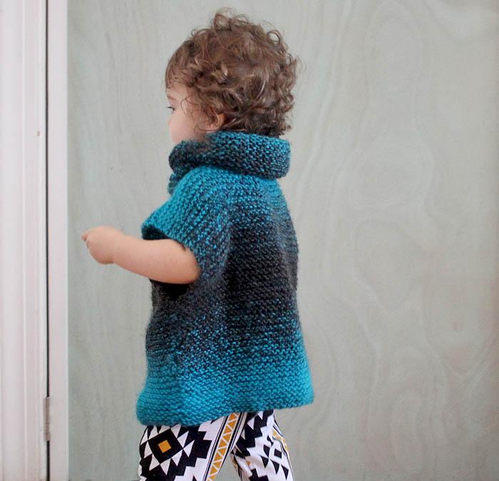 Easy Childs Jumper Knitting Pattern : Super Easy 3 Square Childs Sweater [knitting pattern] - Gina Michele