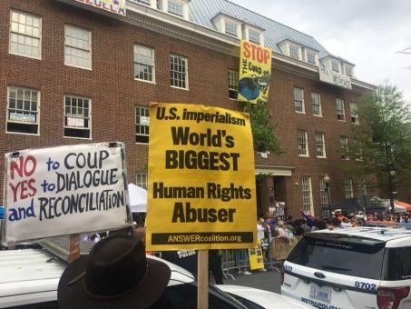 Instan a EE.UU. a apegarse a convenios internacionales para proteger embajada de Venezuela