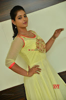Teja Reddy in Anarkali Dress at Javed Habib Salon launch ~  Exclusive Galleries 012.jpg