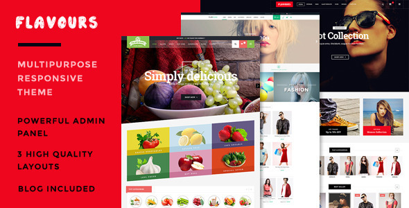 Download Flavours - Responsive Opencart Theme Themeforest
