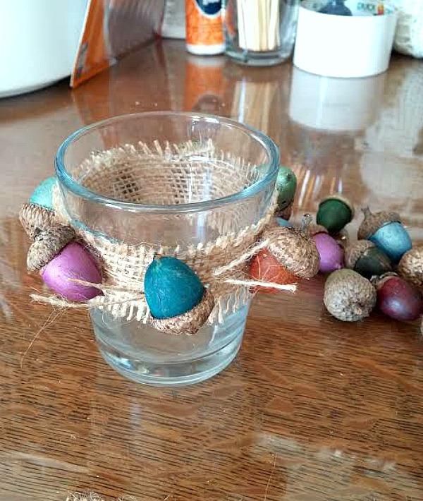 acorn votives