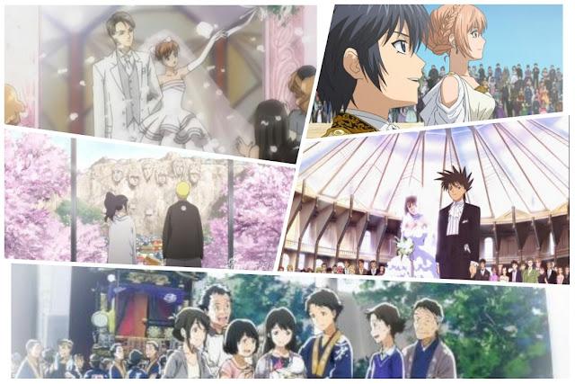11 Daftar anime kisah karakter utamanya hingga menikah,Dijamin buat para jomblo ingin segera menyusul