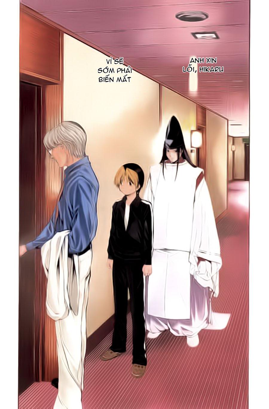 Hikaru No Go hikaru no go chap 124 trang 4