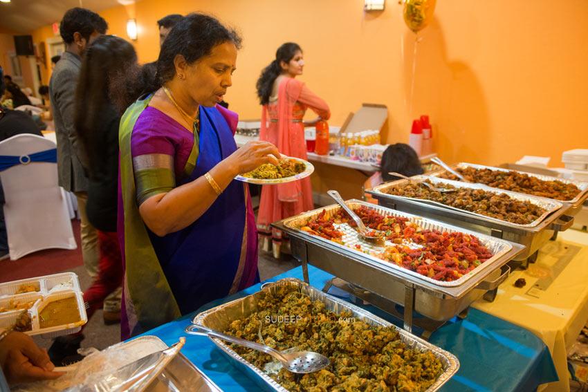 1st (first) Birthday Party Photography Indian Food - Sudeep Studio Ann Arbor Photographer