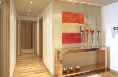Construindo minha casa clean aparadores modernos e vintage inspira es para encher os olhos - Aparadores de entrada ...