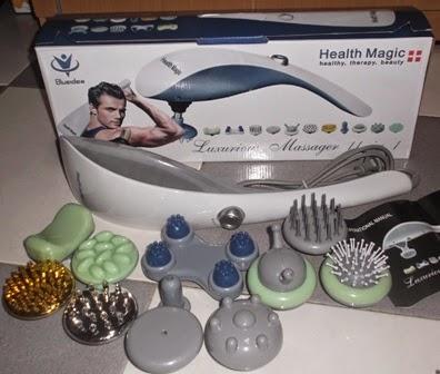 Jual Luxurious massager Alat Pijat 11 in 1