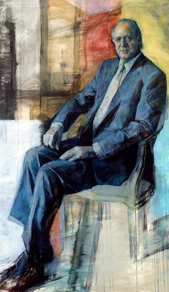 José Pantaleón, Retratos de Juan Carlos I, Retrato del rey, Juan Carlos I, Retratos de José Pantaleón, Retratista español, Pintores de Oviedo, Retrato Oficial, Felipe Garín Llombart