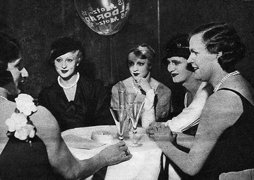 Femulating at Berlin's Eldorado, circa 1930