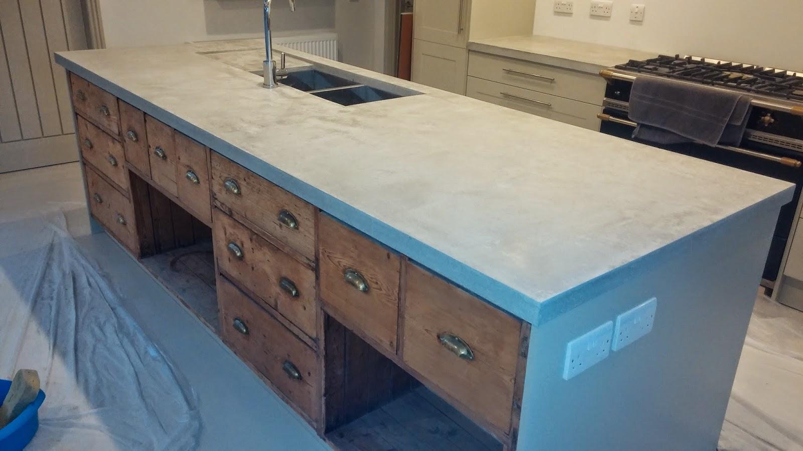 Bespoke Kitchen Island Worktop