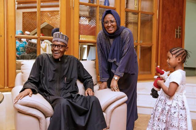 Buhari returns to Aso villa