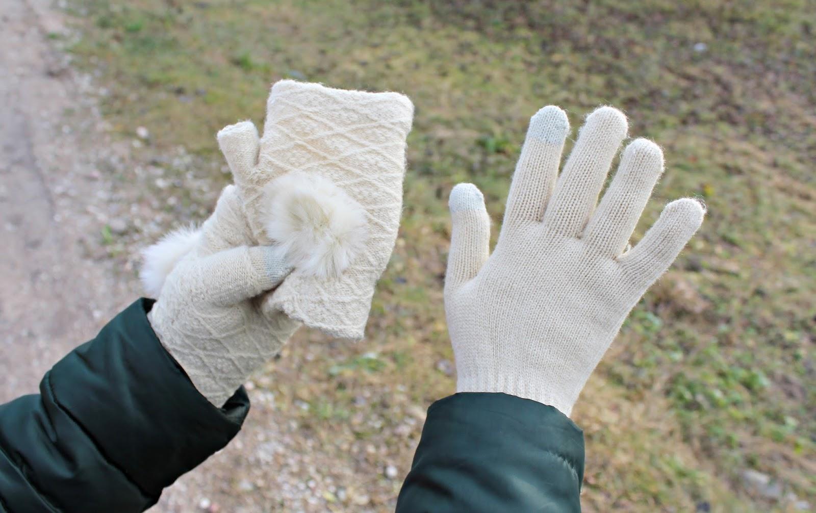 Rękawiczki dotykowe do telefonu i czapka ze słuchawkami IziGSM