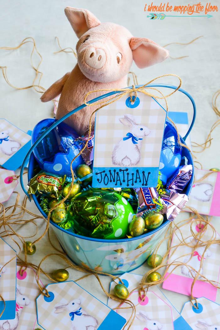 Easter Basket Labels