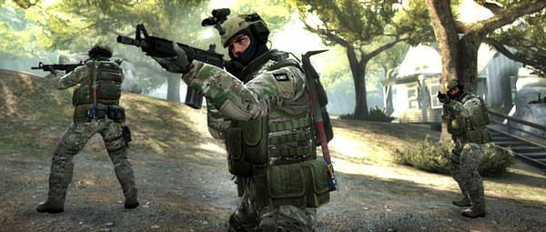 Counter-Strike: Global Offensive. Jogos grátis da Steam