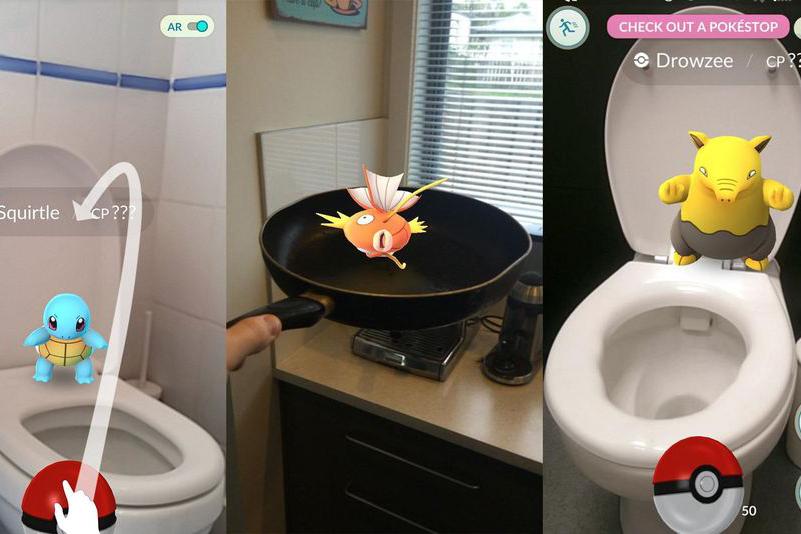 Pokemon GO 的空間連續性