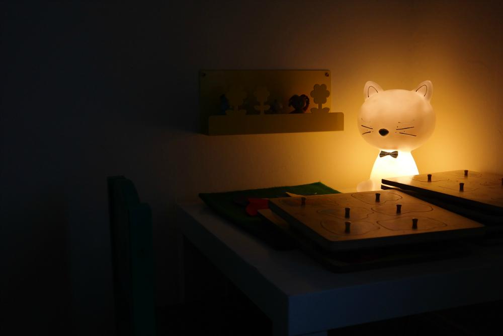 October: Cat nightlight