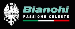 Logo ufficiale Bianchi Bici Passione Celeste