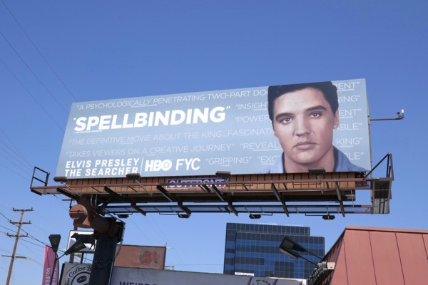 Elvis Presley Searcher 2018 Emmy FYC billboard