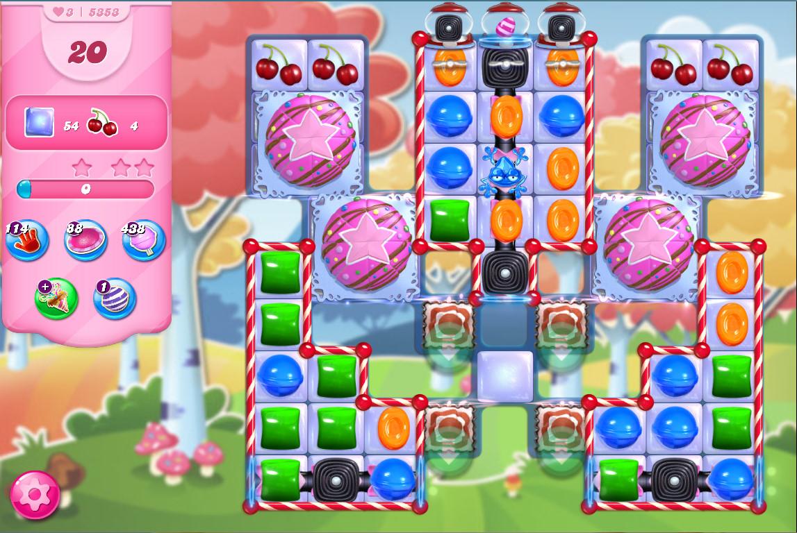 Candy Crush Saga level 5353