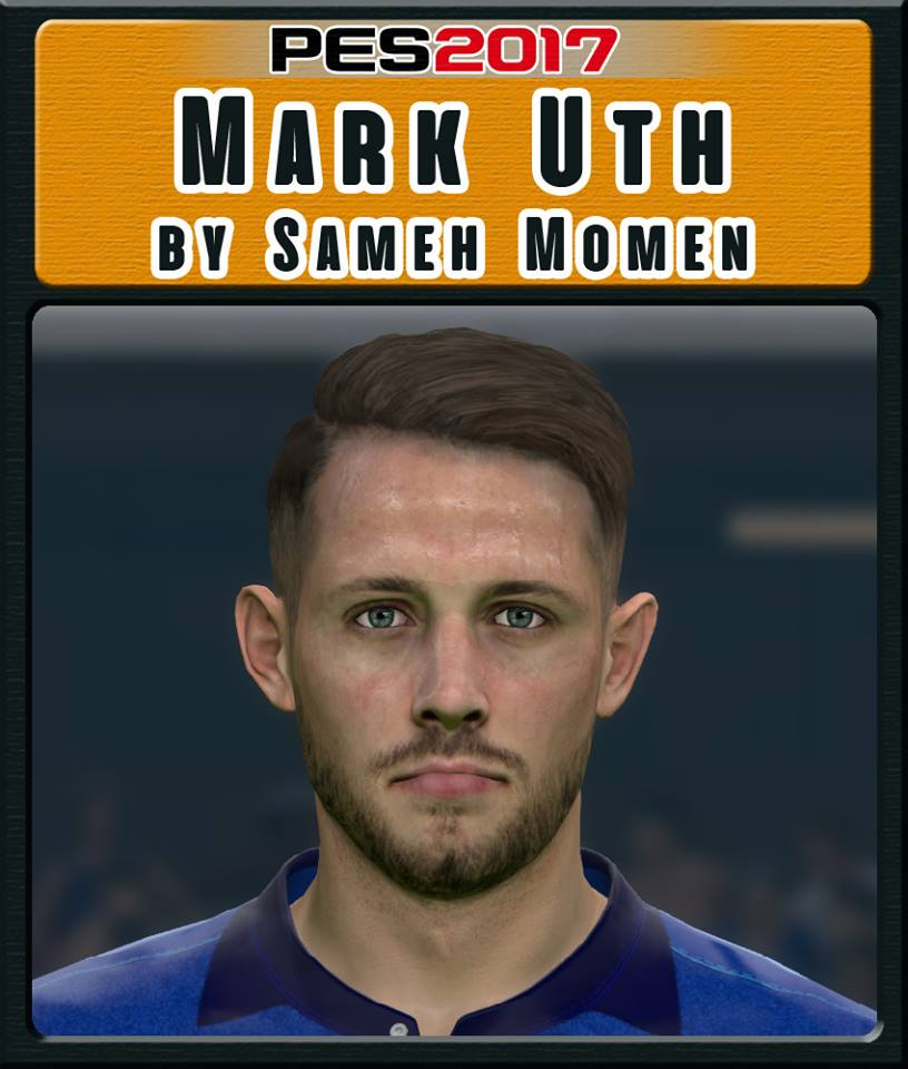 Pes 2017 L Moura Face By Sameh Momen: PES 2017 Faces Mark Uth By Sameh Momen
