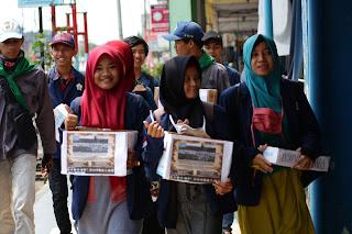 Mahasiswa FAPERTA UNIB Bersatu Bergerak Melakukan Penggalangan Dana Bencana Sulawesi Tengah