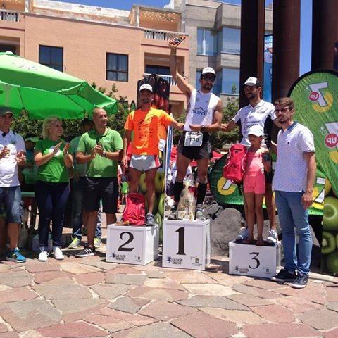 Ganadores del IV kilómetro vertical de Guimar