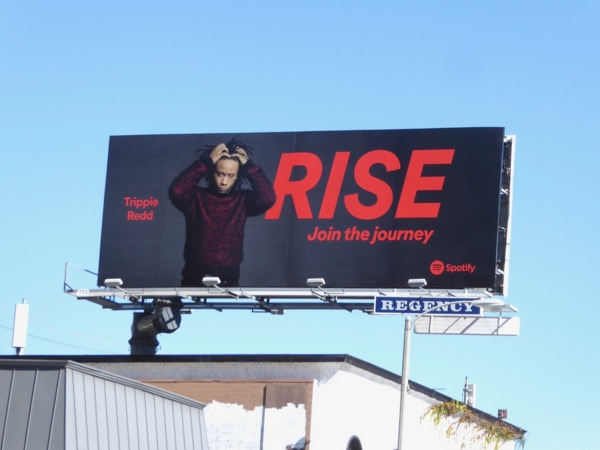 Trippie Redd Rise Spotify billboard