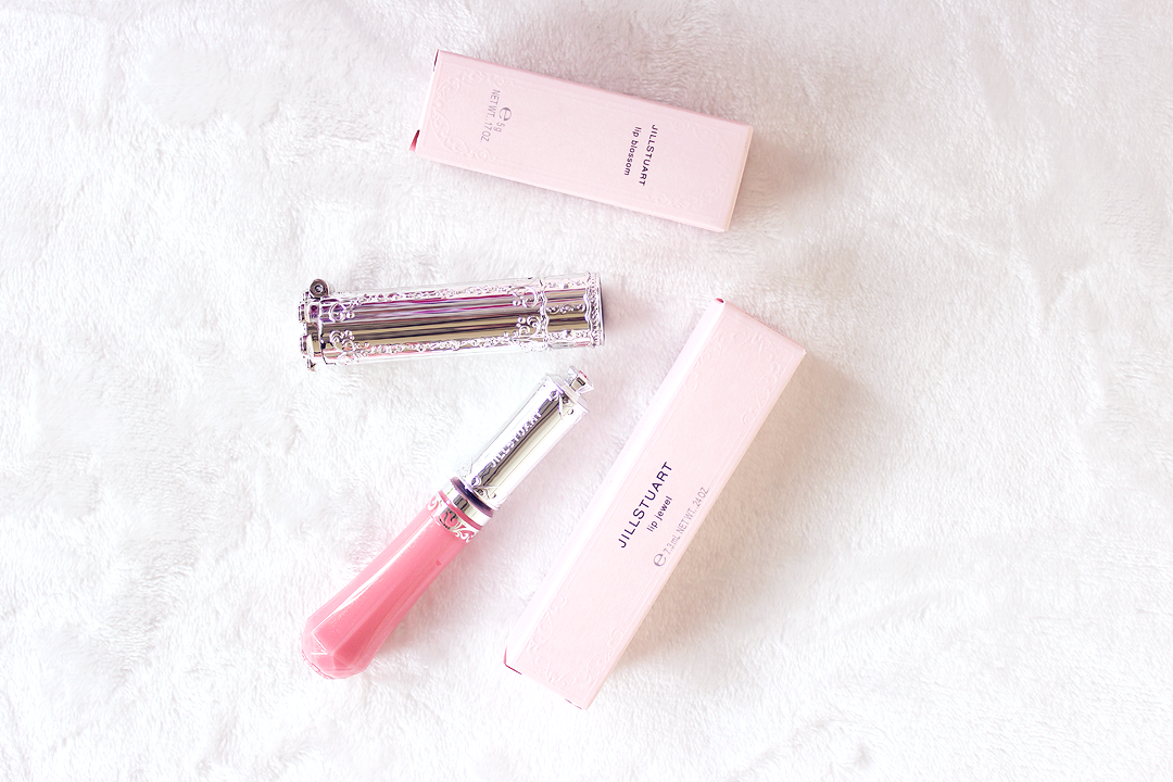 Jill Stuart Review Lip Jewel and Lip Blossom