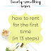 The Twenty-Something Series: How to rent for the first time – in 13 steps