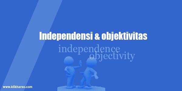 Independensi objektivitas