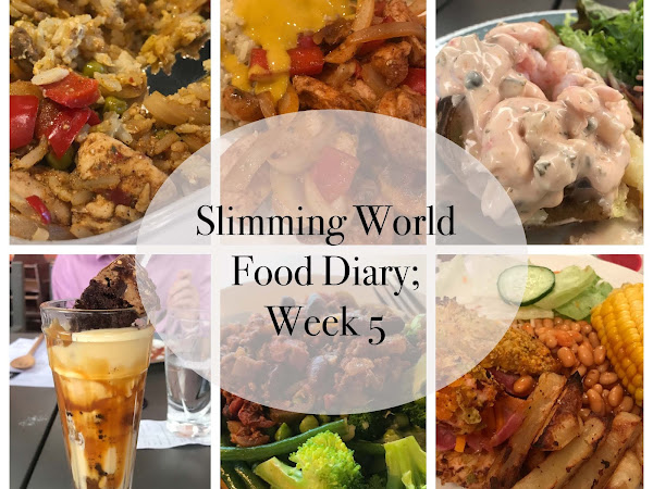 Slimming World Food Diary; Week 5