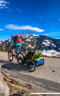 Uphill Thule Chariot
