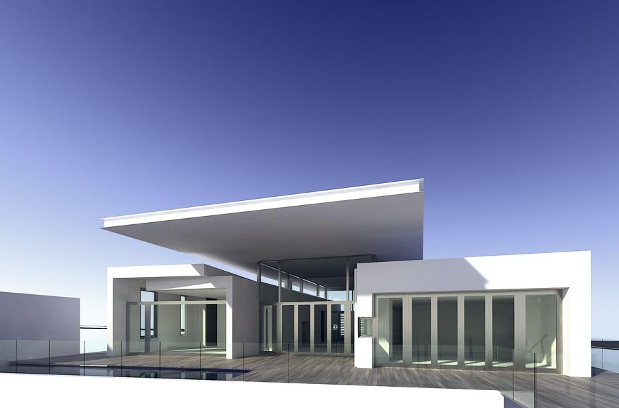 Hogares frescos modelos de casas minimalistas para un for Arquitectura moderna minimalista