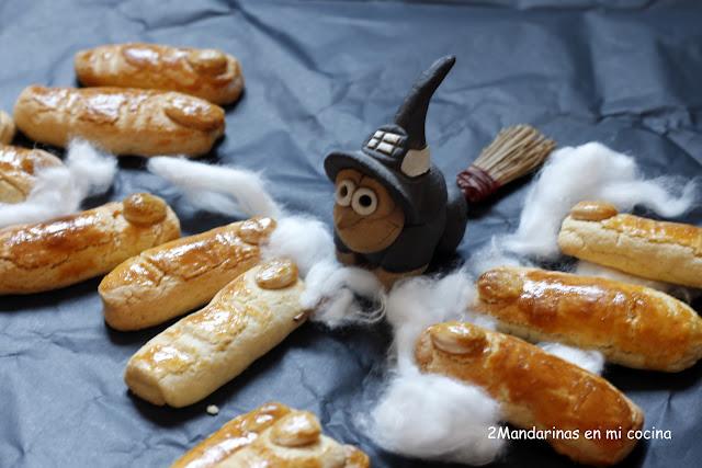 como preparar galletas para halloween en forma de dedos de bruja