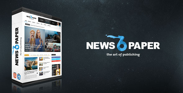 Newspapers WordPress Theme v6.6