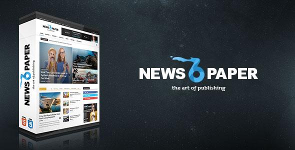 Newspapers WordPress Theme v6.6