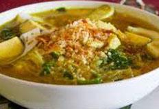 Resep praktis (mudah) soto bongko spesial (istimewa) khas sumedang enak, sedap, gurih
